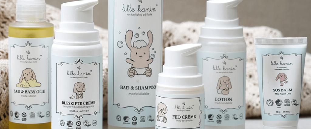 Hele Lille Familien kanin med alle sekd produkter