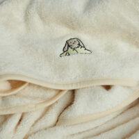 baby håndklæde foldet sammen